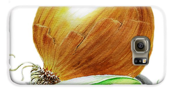 Onion And Peas Galaxy S6 Case by Irina Sztukowski