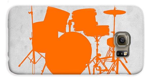 Orange Drum Set Galaxy S6 Case by Naxart Studio