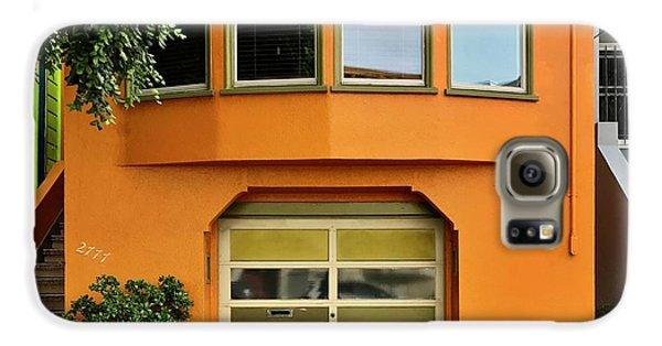 Orange House Galaxy S6 Case