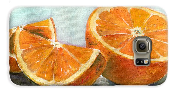 Orange Galaxy S6 Case
