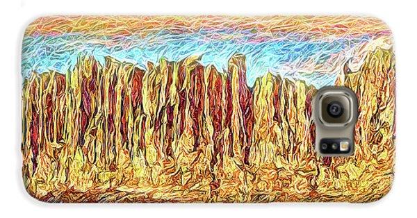 Orange Sky Cliffs - Colorado Galaxy S6 Case