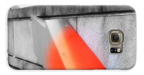 Orange Tipped Arrow Galaxy S6 Case