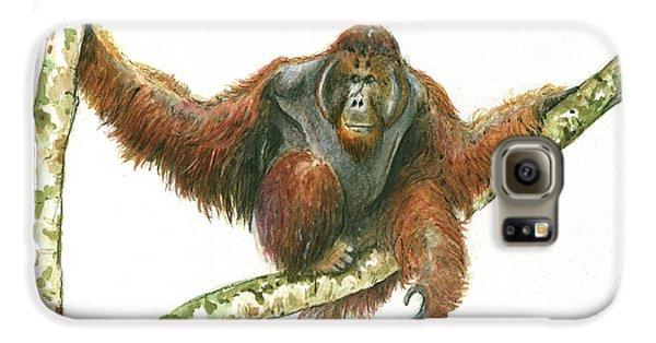 Orangutang Galaxy S6 Case
