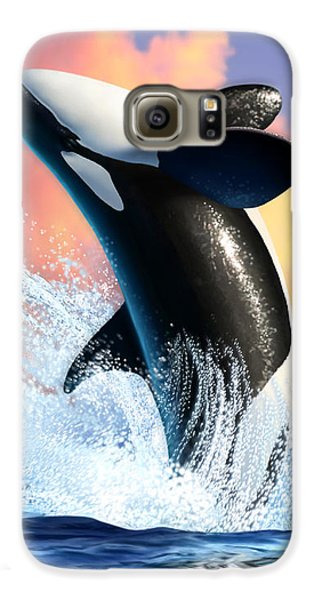 Orca 1 Galaxy S6 Case by Jerry LoFaro