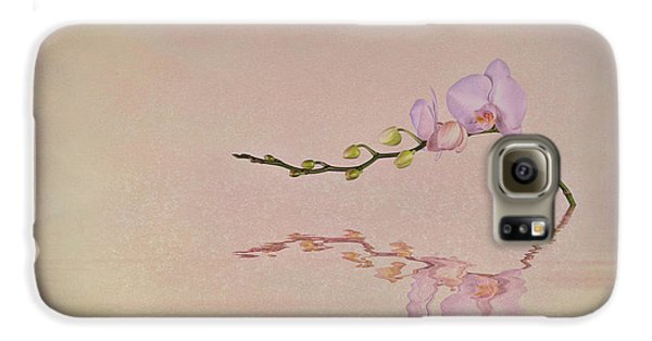 Orchid Galaxy S6 Case - Orchid Blooms And Buds by Tom Mc Nemar