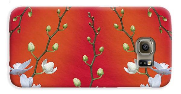 Orchid Galaxy S6 Case - Orchid Ensemble by Tom Mc Nemar