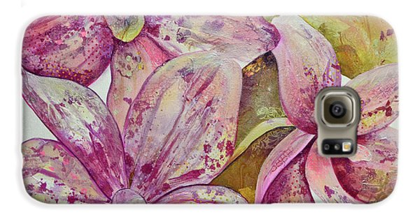 Orchid Galaxy S6 Case - Orchid Envy by Shadia Derbyshire