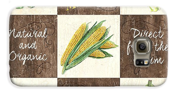 Organic Market Patch Galaxy S6 Case by Debbie DeWitt