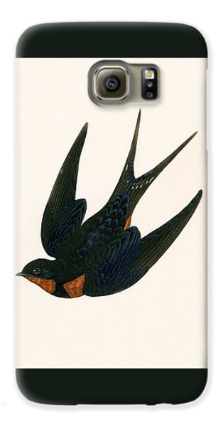 Oriental Chimney Swallow Galaxy S6 Case