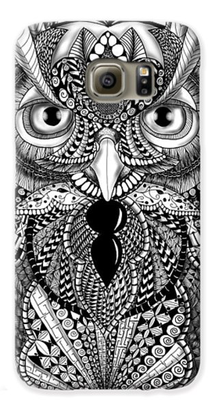 Ornate Owl Galaxy S6 Case