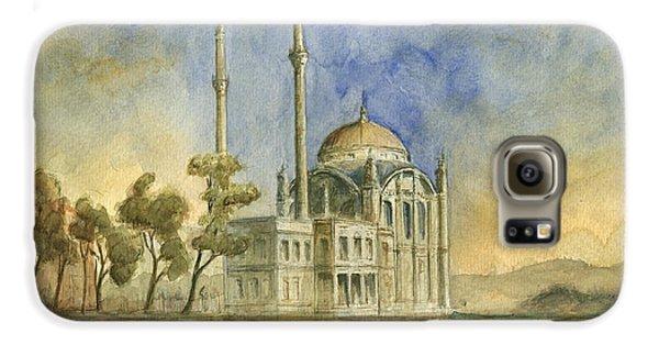 Turkey Galaxy S6 Case - Ortakoy Mosque Istanbul by Juan Bosco