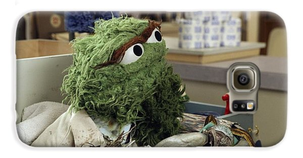 Oscar The Grouch Galaxy S6 Case