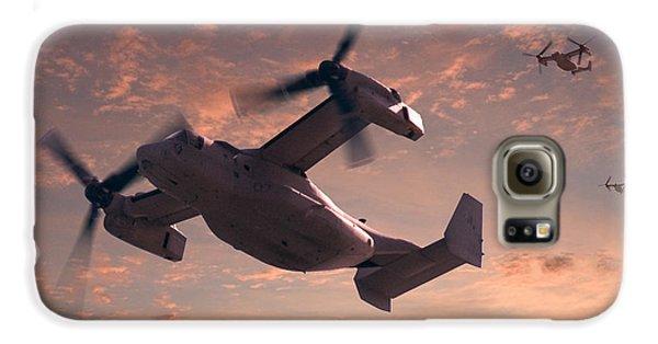 Ospreys In Flight Galaxy S6 Case by Mike McGlothlen