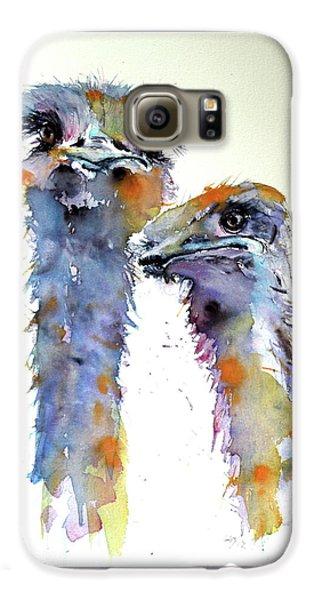 Ostriches Galaxy S6 Case