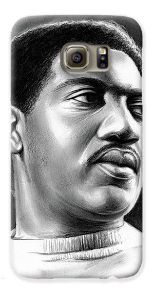 Rhythm And Blues Galaxy S6 Case - Otis Redding by Greg Joens