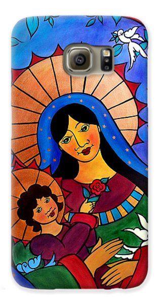 Our Lady Of The Garden Galaxy S6 Case