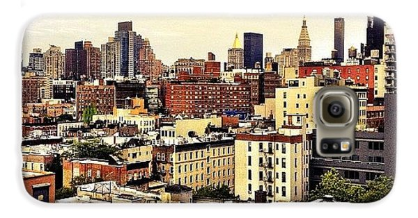 City Galaxy S6 Case - Over The Rooftops Of New York City by Vivienne Gucwa