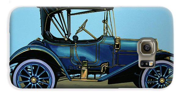 Automobile Galaxy S6 Case - Overland 1911 Painting by Paul Meijering