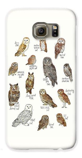 Elf Galaxy S6 Case - Owls by Amy Hamilton