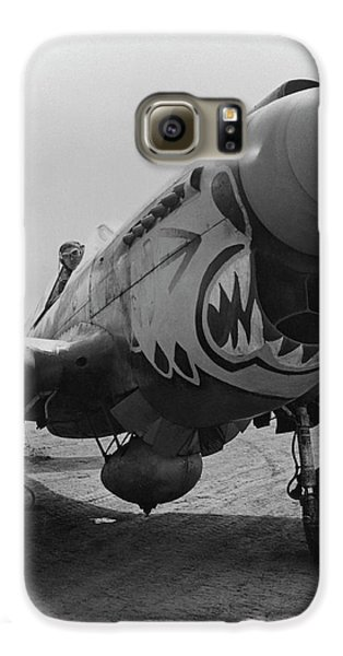Tiger Galaxy S6 Case - P-40 Warhawk - Flying Tiger by War Is Hell Store