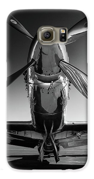Airplanes Galaxy S6 Case - P-51 Mustang by John Hamlon