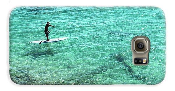 Paddle The Aqua Sea Galaxy S6 Case