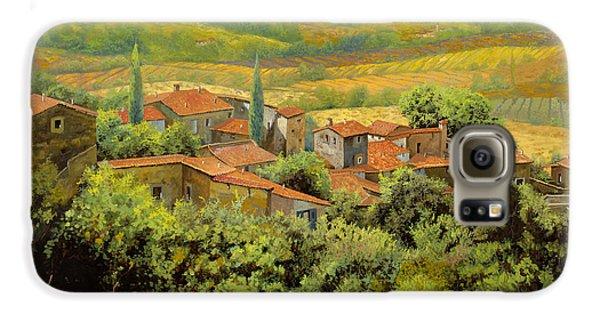 Landscapes Galaxy S6 Case - Paesaggio Toscano by Guido Borelli