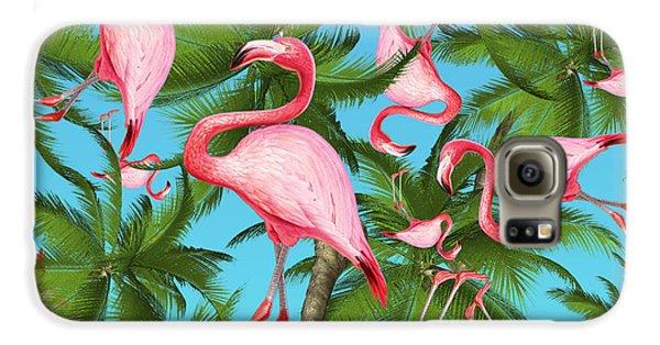 Animals Galaxy S6 Case - Palm Tree by Mark Ashkenazi