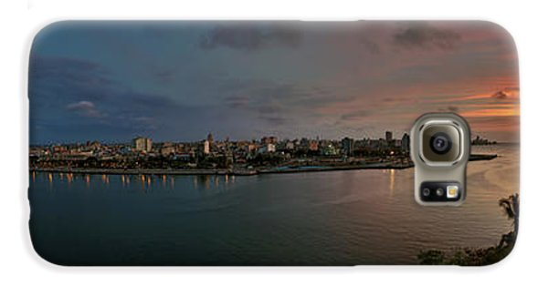 Panoramic View Of Havana From La Cabana. Cuba Galaxy S6 Case