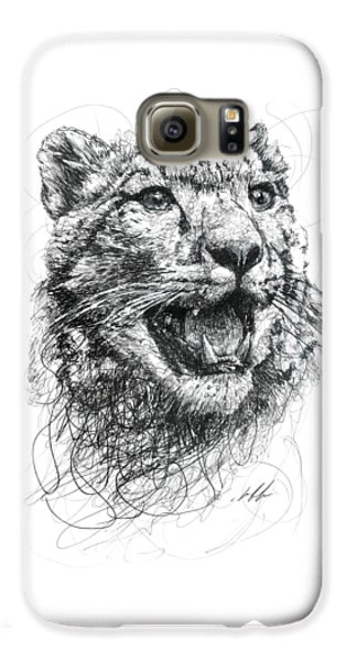 Leopard Galaxy S6 Case - Leopard by Michael Volpicelli