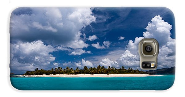 Paradise Is Sandy Cay Galaxy S6 Case
