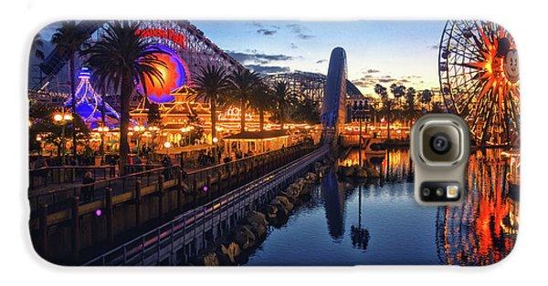 Paradise Pier Sunset Galaxy S6 Case