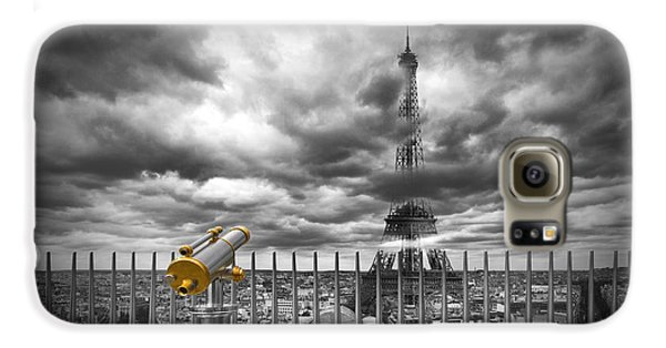 Paris Composing Galaxy S6 Case by Melanie Viola