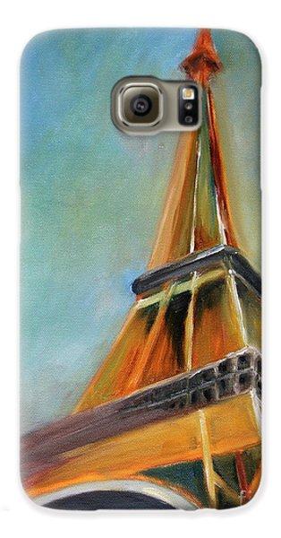 Eiffel Tower Galaxy S6 Case - Paris by Jutta Maria Pusl
