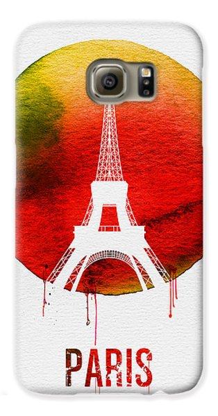 Paris Landmark Red Galaxy S6 Case