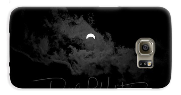 Partial Eclipse, Signed. Galaxy S6 Case