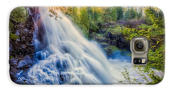 Galaxy S6 Case featuring the photograph Partridge Falls In Late Afternoon by Rikk Flohr