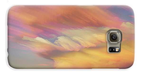 Galaxy S6 Case featuring the photograph Pastel Painted Big Country Sky by James BO Insogna