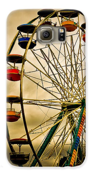 Wizard Galaxy S6 Case - Patch Of Blue by Bob Orsillo