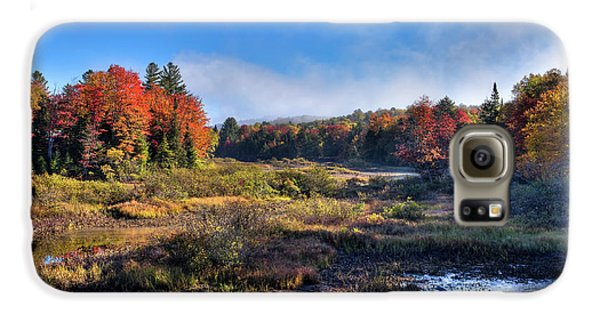 Galaxy S6 Case featuring the photograph Patches Of Fog At The Green Bridge by David Patterson