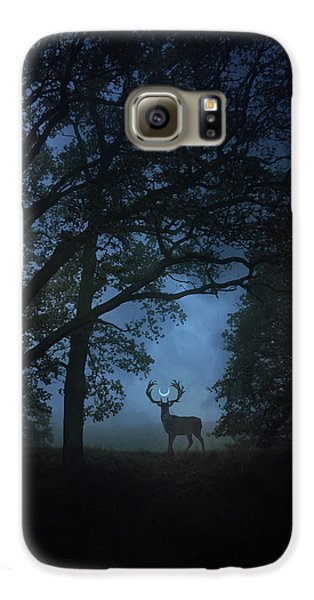 Magician Galaxy S6 Case - Path Of Shadows by Cambion Art