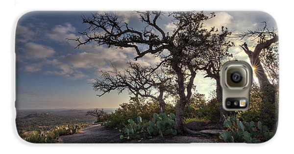 Pathway On Top Of Enchanted Rock Galaxy S6 Case