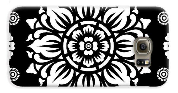Pattern Art 01-1 Galaxy S6 Case by Bobbi Freelance