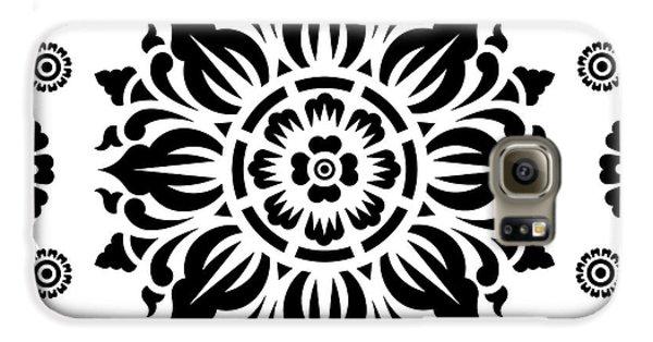 Pattern Art 01-2 Galaxy S6 Case by Bobbi Freelance