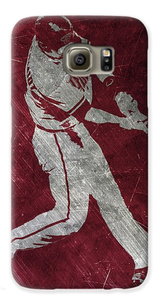 Paul Goldschmidt Arizona Diamondbacks Art Galaxy S6 Case by Joe Hamilton