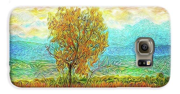Peace Tree Sunset Galaxy S6 Case