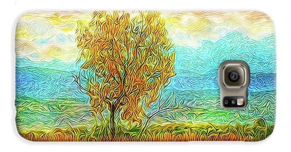 Peace Tree Sunset Galaxy S6 Case by Joel Bruce Wallach
