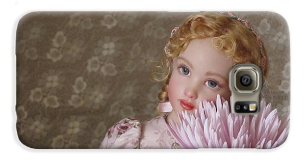 Galaxy S6 Case featuring the photograph Peaceful Kish Doll by Nancy Lee Moran