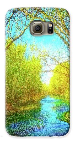 Peaceful River Spirit Galaxy S6 Case
