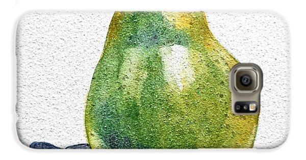 Pear Galaxy S6 Case by Irina Sztukowski